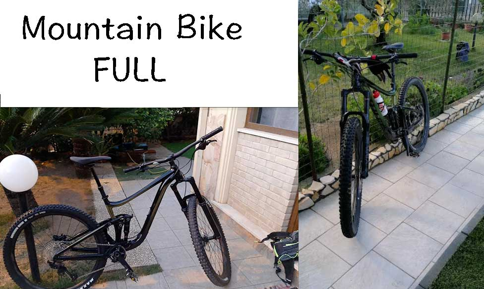 Mountain Bike Full Suspended