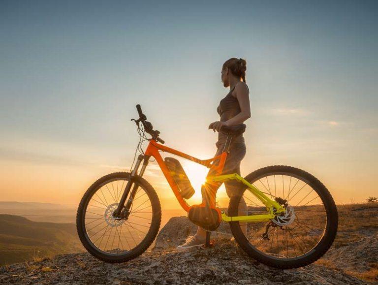 Bici elettrica da donna