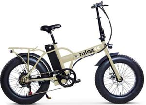 Bici Nilox elettrica