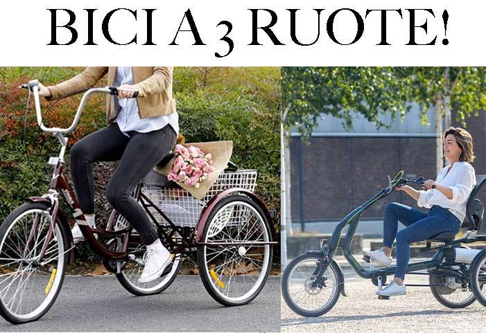 Bici a 3 ruote