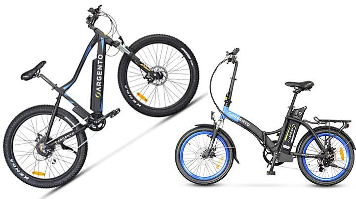 Bici elettrica Argento