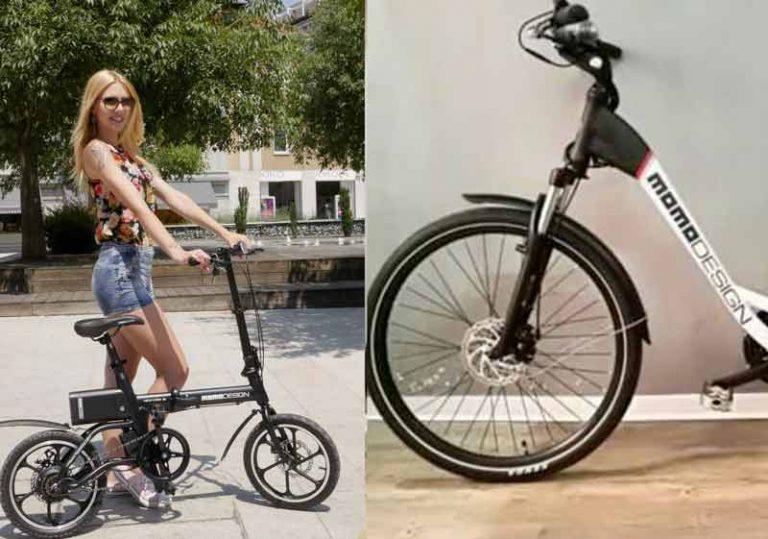 Bici elettrica Momo Design