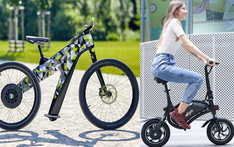 Bici elettrica senza pedali