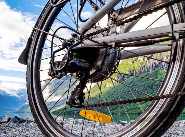 kit conversione in bici elettrica