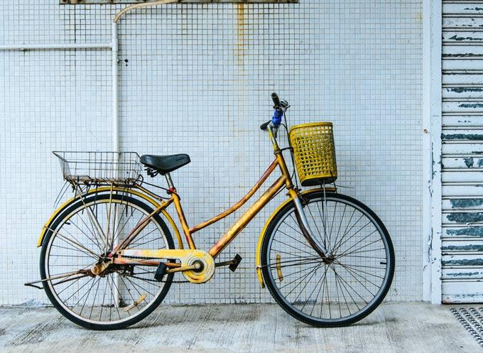 Catena antifurto bici