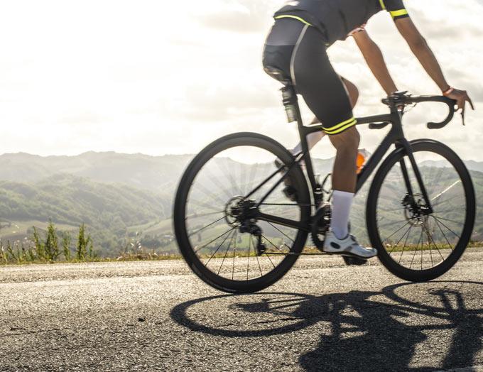 reggisella per bici in carbonio