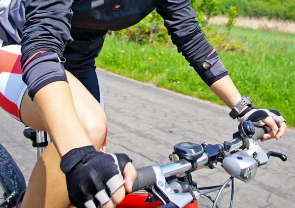 Contachilometri per mountain bike