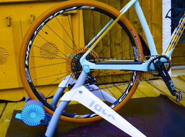 Rullo da telaio per bici