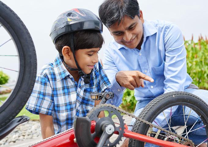 caschi bici per bambino