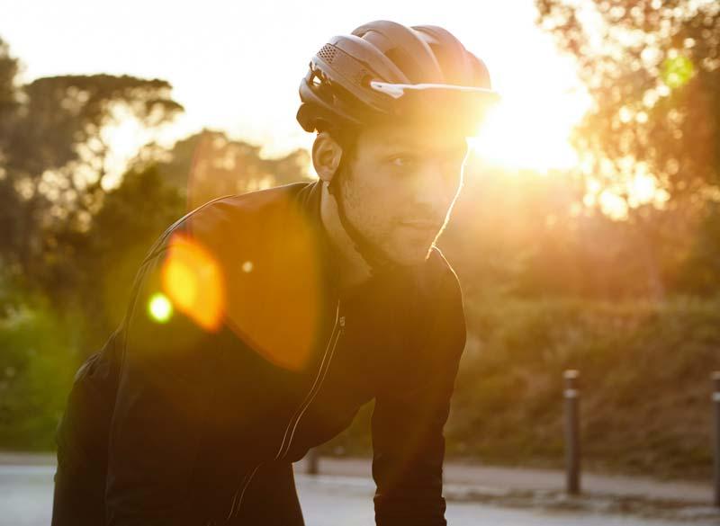 casco per bici da corsa