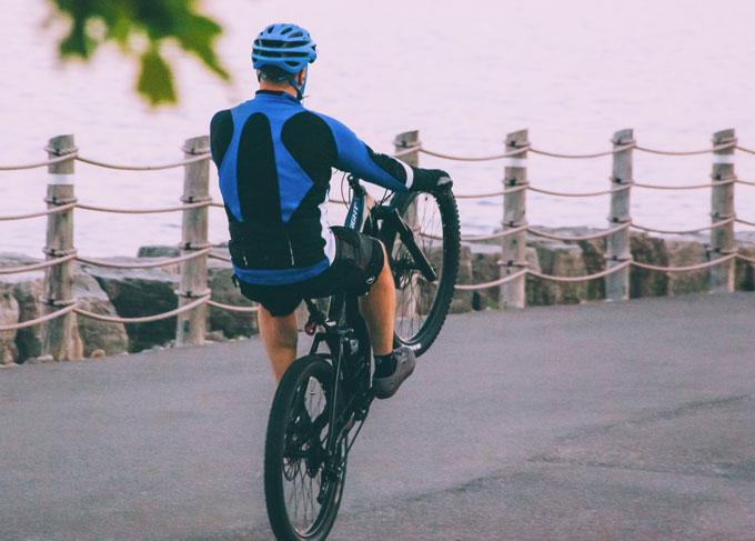 casco per biciclette